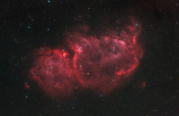 Der Seele-Nebel im Sternbild Cassiopeia (sichtbares Licht) – Foto