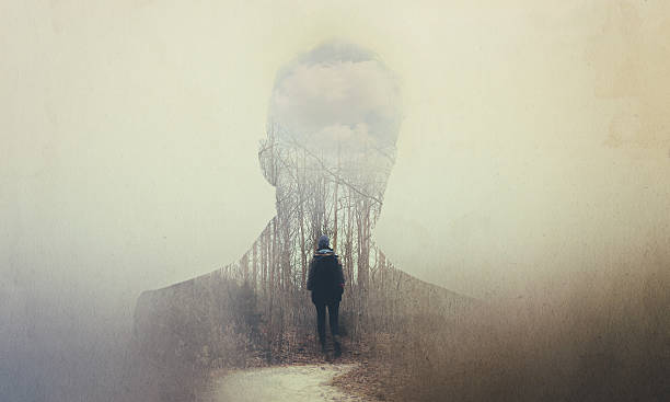 the soul seeks its own path - stalking stock photos and pictures