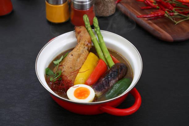 Das Suppencurry gehört zu den japanischen Curry-Lebensmitteln. – Foto