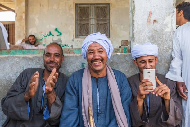 The Souq al-Gamaal weekly camel market stock photo