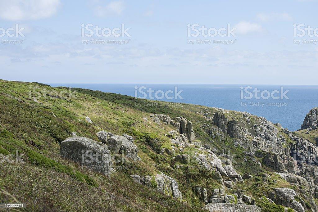 The South Cornish Coast stock photo
