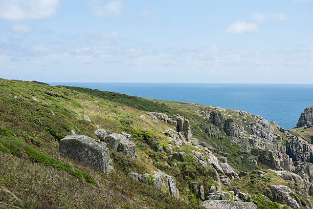 the south cornish coast - cornwall stock pictures, royalty-free photos & images