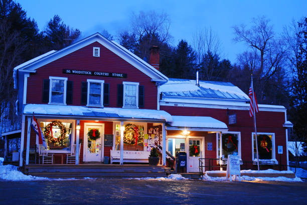 The South Woodstock Country store stock photo