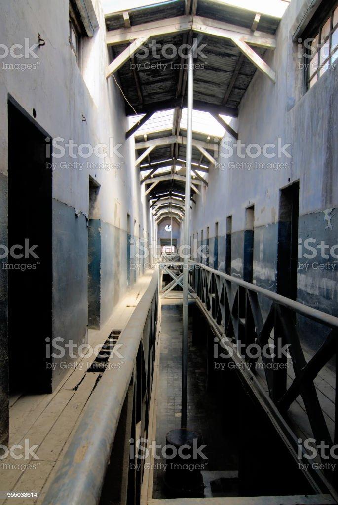 the southernmost jail in the world Ushuaia Presidium stock photo