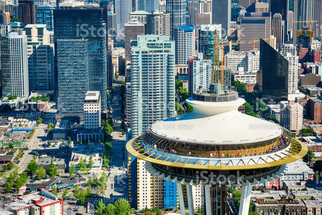 The Space Needle stock photo