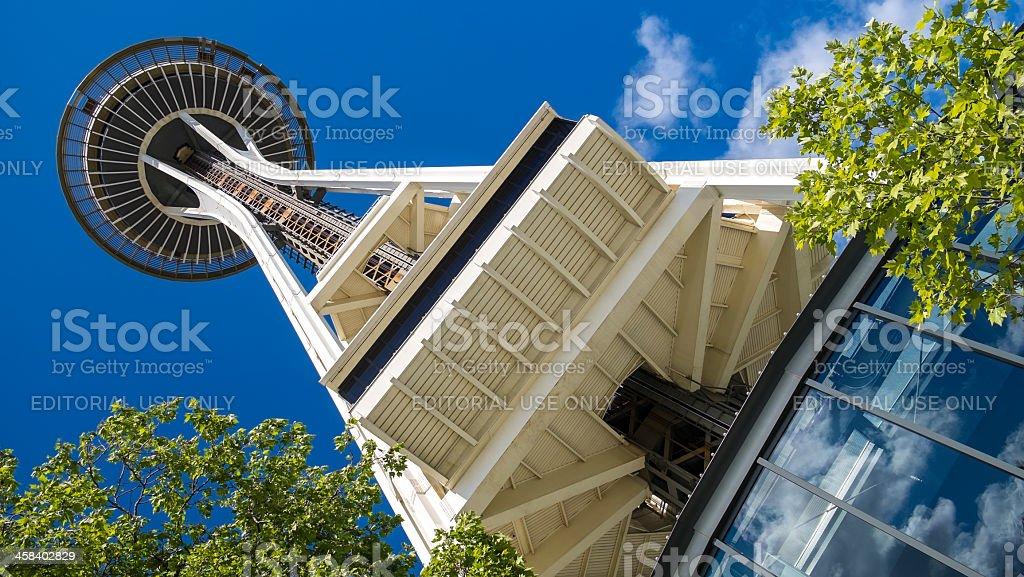 The Space Needle, Seattle, Washington, USA royalty-free stock photo