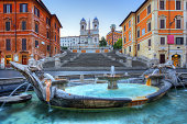 istock The Spanish Steps in Rome 453050647