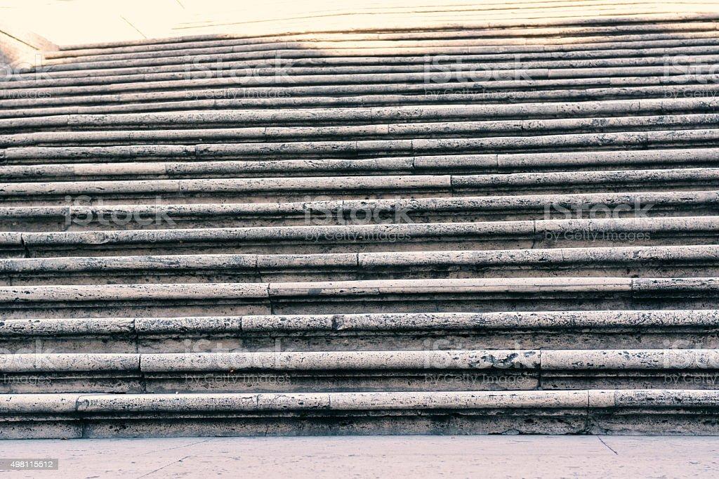 The Spanish Steps, Rome stock photo