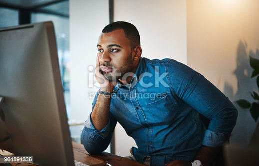 istock The spark has gone out of his career 964894336