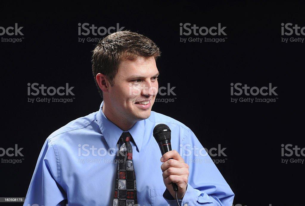 The Speech royalty-free stock photo