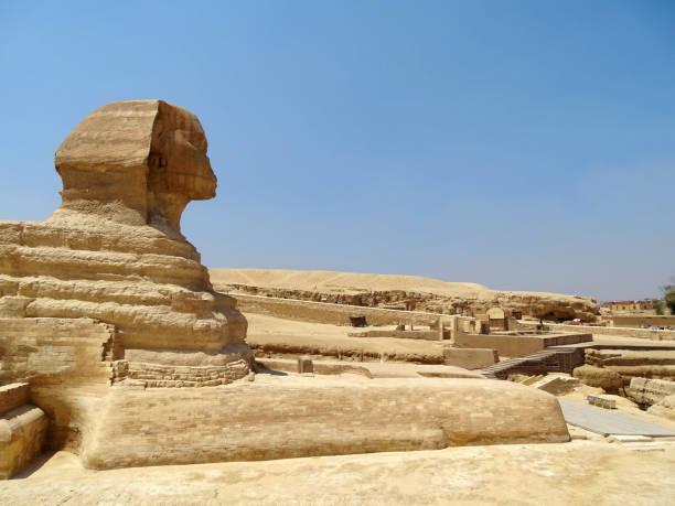 The Sphinx in Egypt stock photo