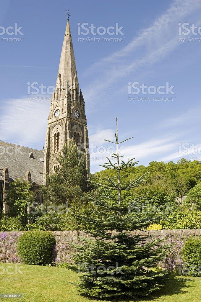 The spire royaltyfri bildbanksbilder