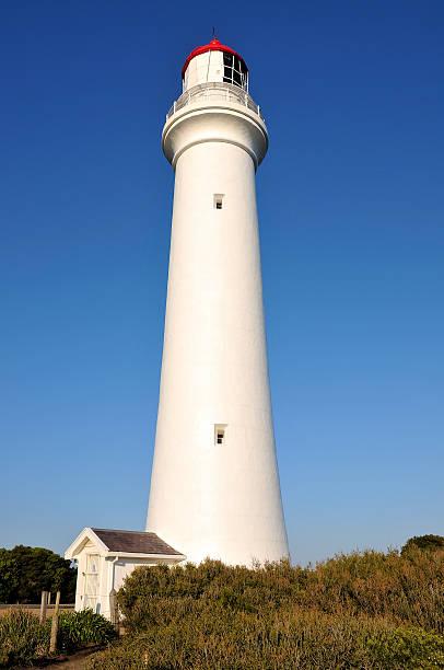 The Split Point Lighthouse, Australia stock photo