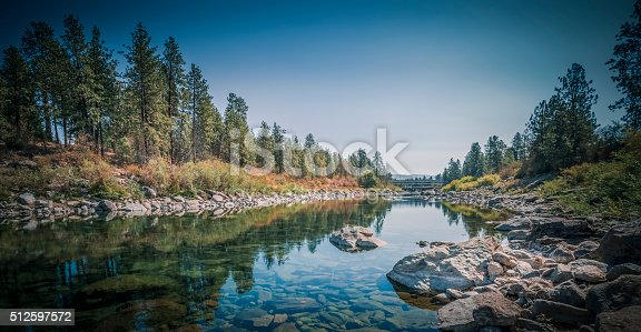 The Spokane River Centennial Trail is a 37 miles (60 km) paved trail in Washington for alternate transportation and recreational use. It extends from Sontag Park in Nine Mile Falls, Washington to the Washington/Idaho border. It passes through the cities of Spokane, Washington, Spokane Valley, Washington, Liberty Lake, Washington, and is divided into three sections. Riverside refers to the section of the trail within Riverside State Park, Urban refers to the section within the city of Spokane, and Valley refers the Spokane Valley section west of the border. After the border into Idaho, the trail continues as the North Idaho Centennial Trail.