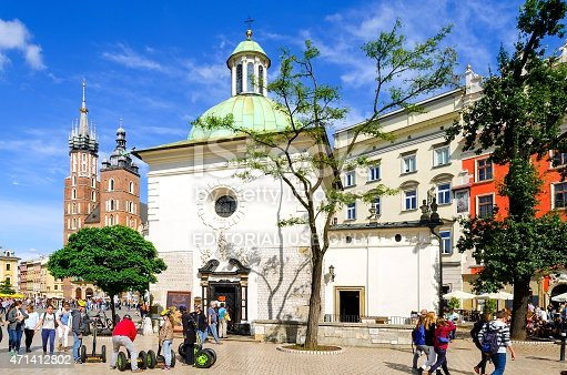istock The St. Adalbert's Church in Krakow, Poland. 471412802