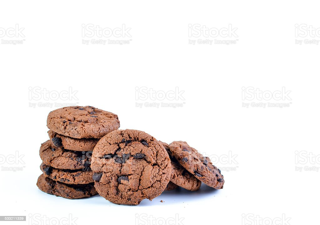 The Stacked Cookies stock photo