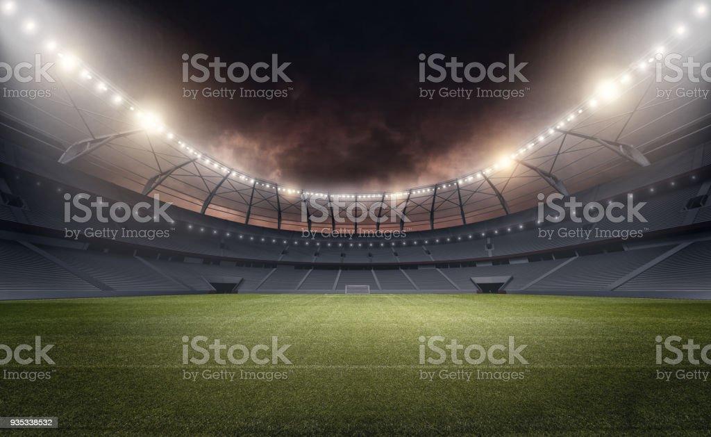 The stadium - Стоковые фото Без людей роялти-фри