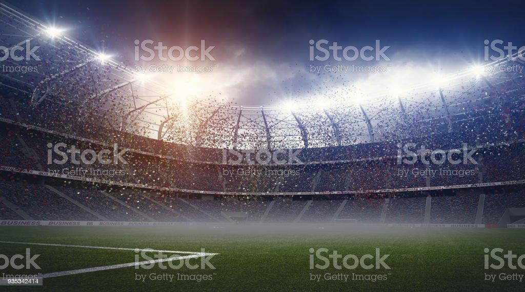 Das Stadion – Foto