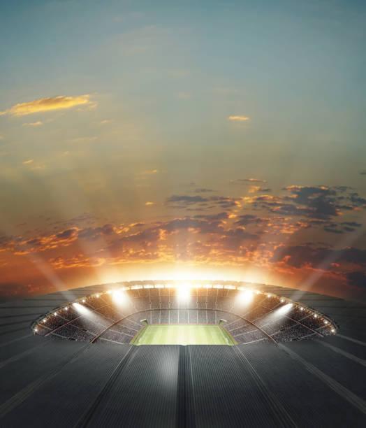 O estádio - foto de acervo
