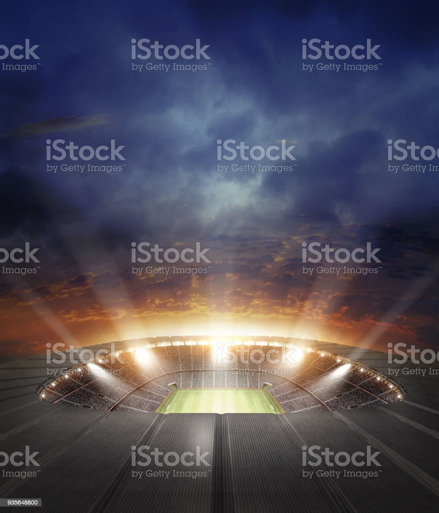Le stade photo libre de droits
