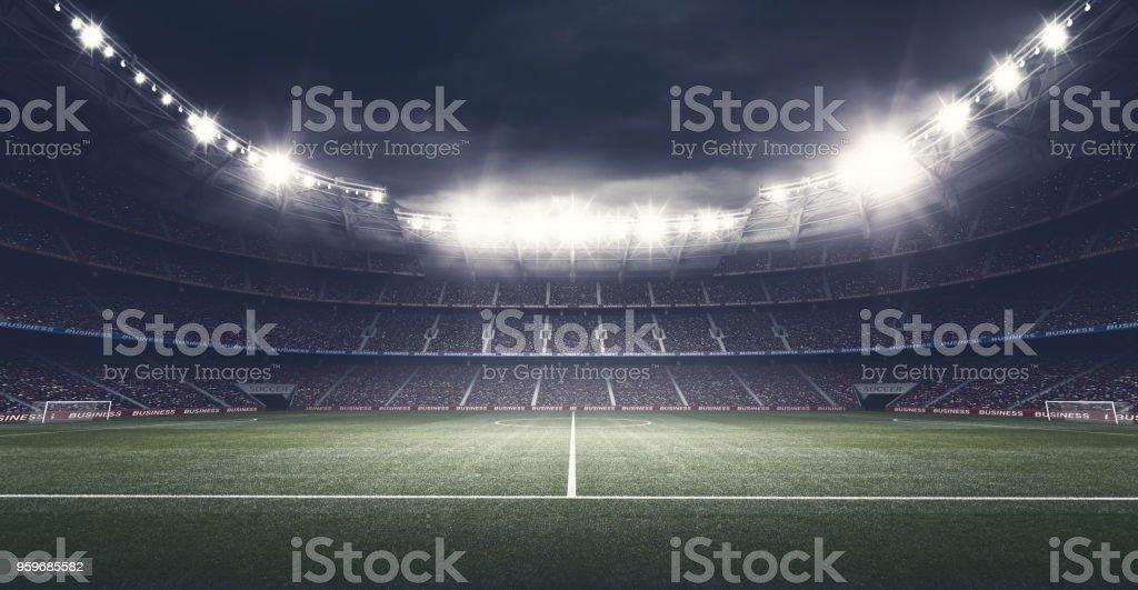 Het stadion - Royalty-free Bal Stockfoto