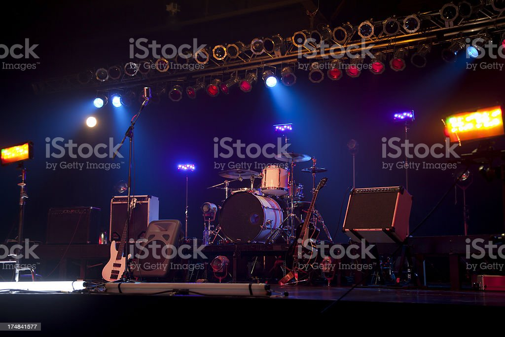 The Stage royalty-free stock photo