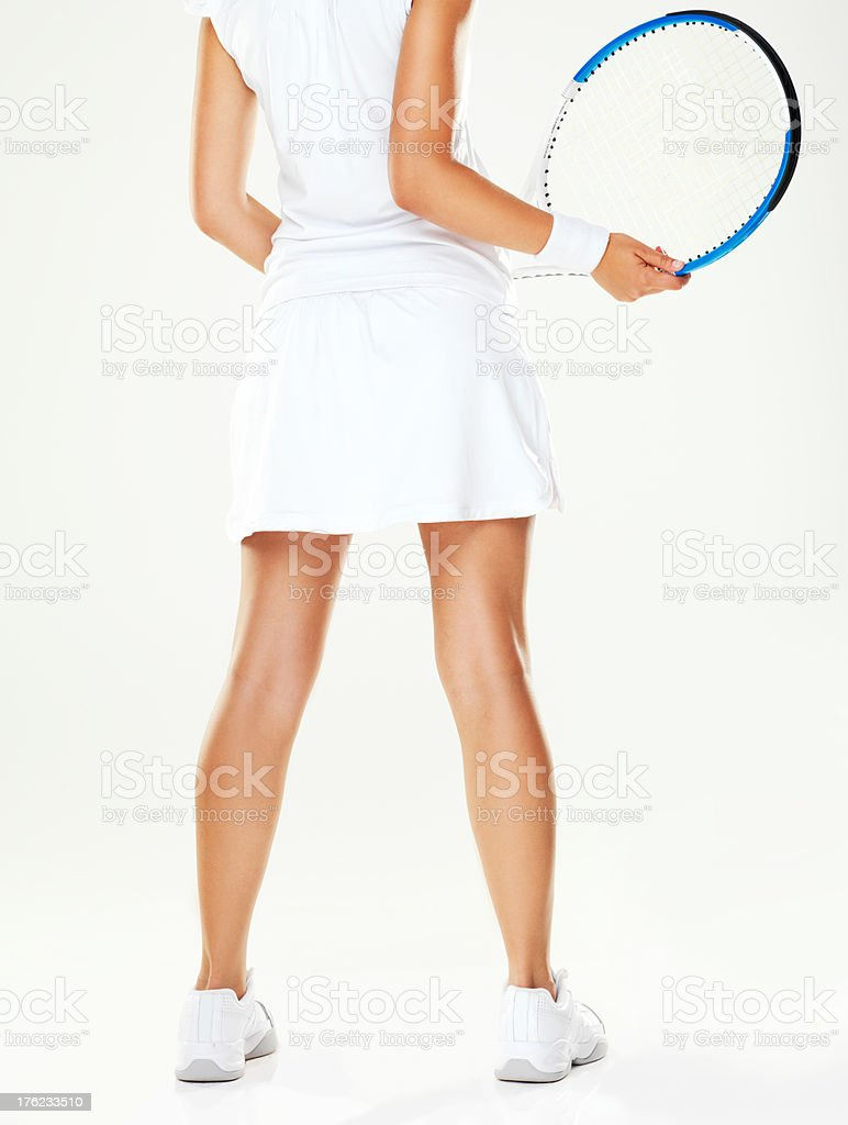 The stance of a pro royalty-free stock photo