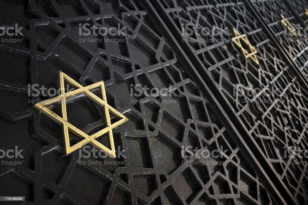 The Star of David stock photo
