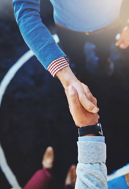 Die Grundlage für eine gute Geschäftsbeziehung – Foto
