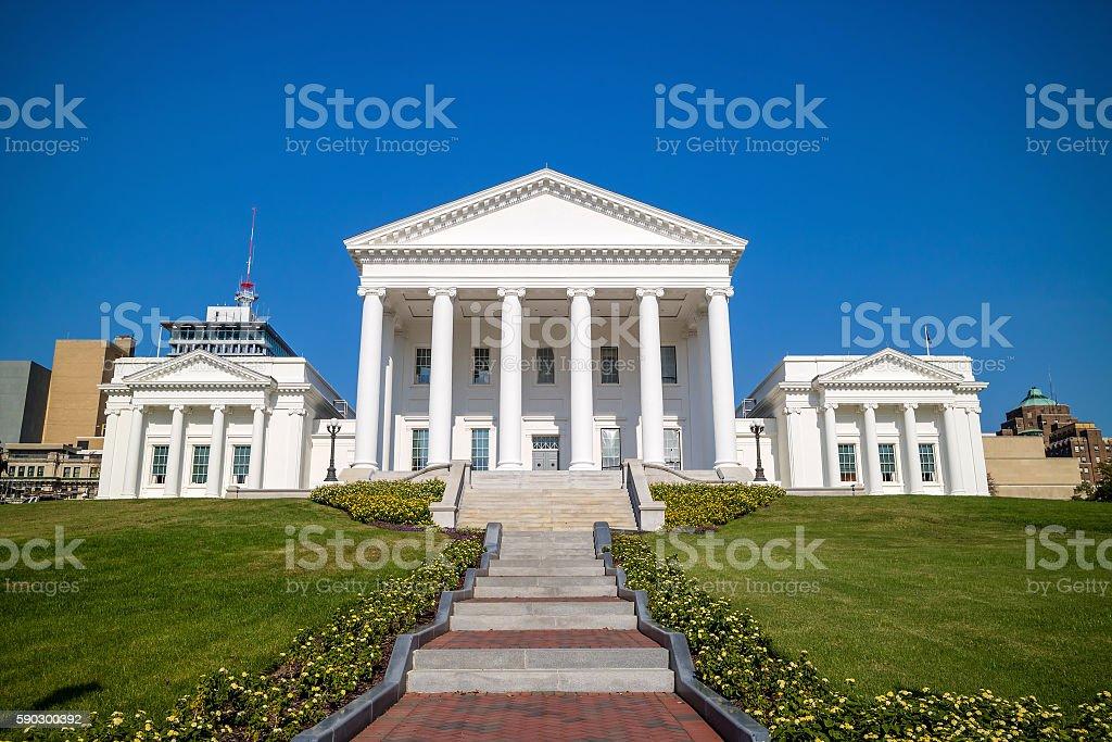 The State Capital building in Richmond Virginia Стоковые фото Стоковая фотография