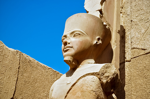 istock The statue of Amun Re in Luxor 480710722