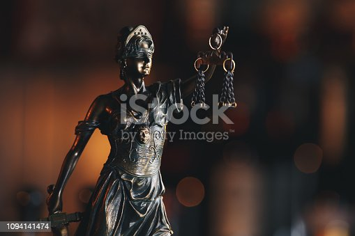 istock The Statue of Justice symbol, legal law concept 1094141474