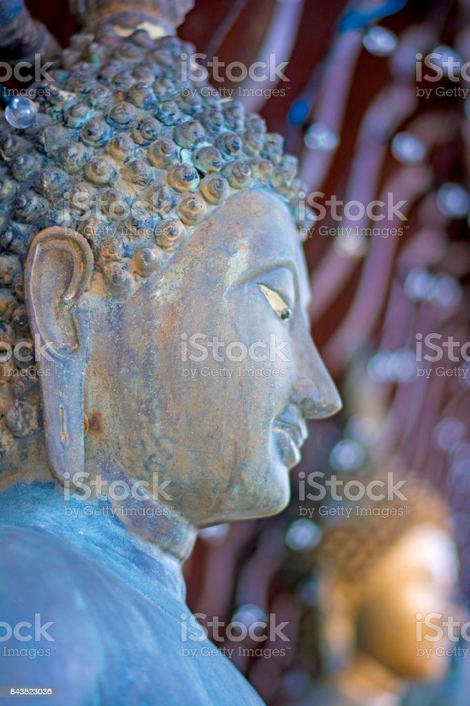 The Statues Of Seema Malakaya At The Gangarama Temple Stock Photo