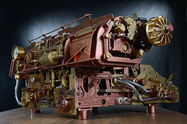 Die steampunk Mechanismus. – Foto