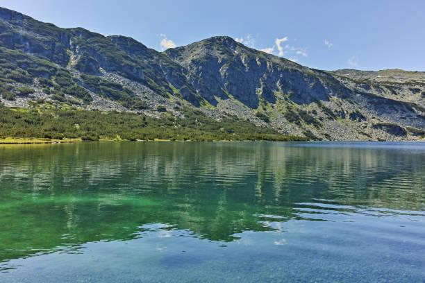 Rila Dağı'ndaki Kokuşmuş Göl, Bulgaristan stok fotoğrafı
