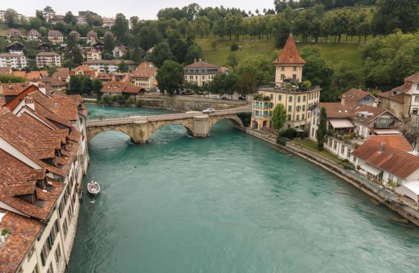 Le pont de pierre Untertorbrucke (Pont de la Porte Inférieure) à Berne - Suisse - Photo