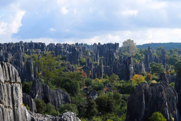 Der Steinwald in Yunnan, China – Foto