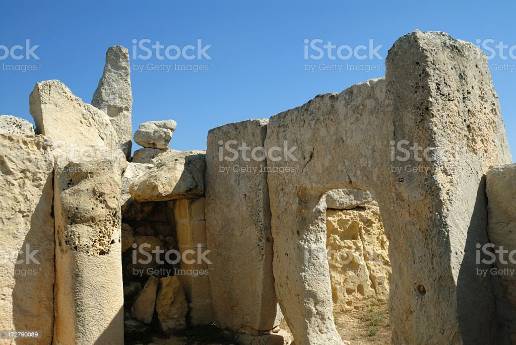 the stones of hagar quim royalty-free stock photo
