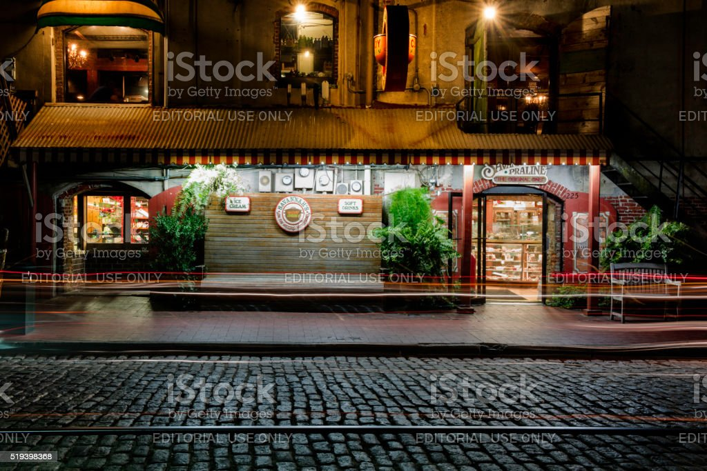 The  store on East River Street stock photo
