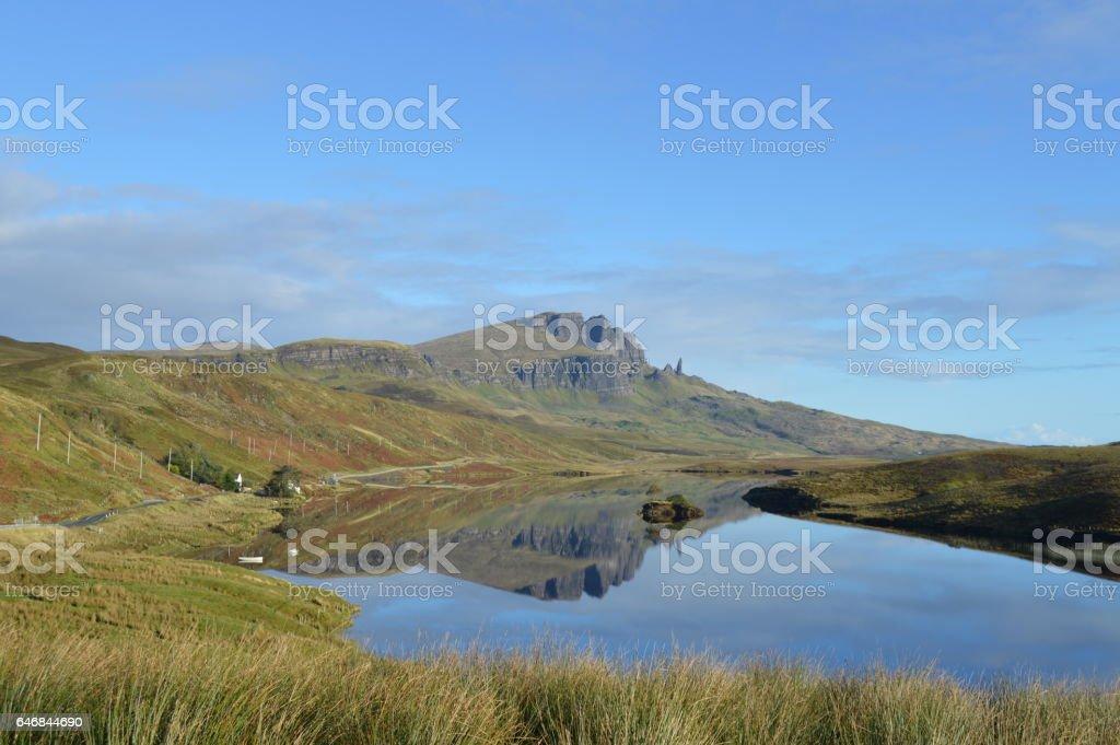 The Storr, Isle of Skye stock photo