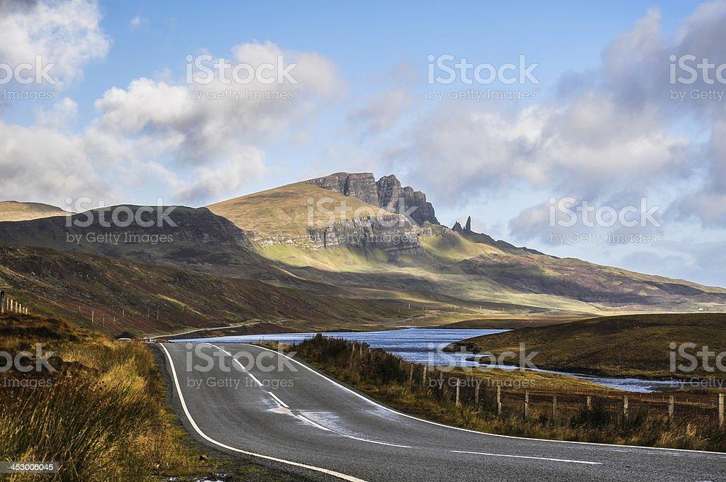 The Storr - Isle of Skye, Scotland stock photo