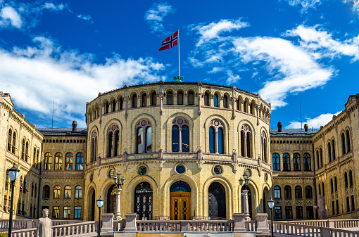 The Storting, the Norwegian parliament in Oslo