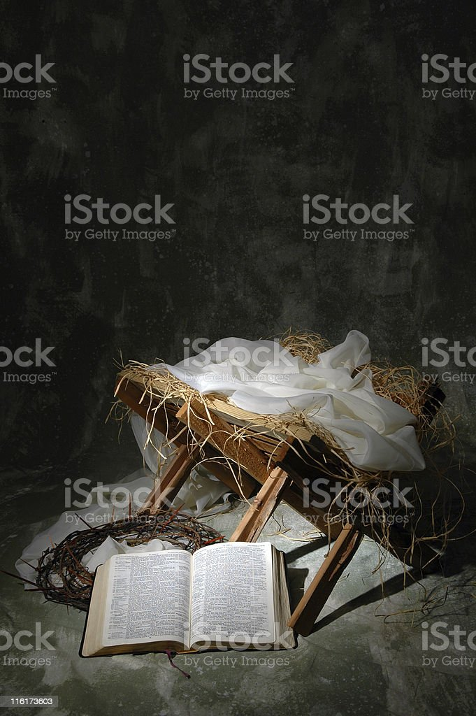 The Story of Christmas royalty-free stock photo