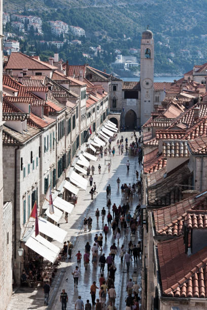 the stradun - stephen lynn stock pictures, royalty-free photos & images