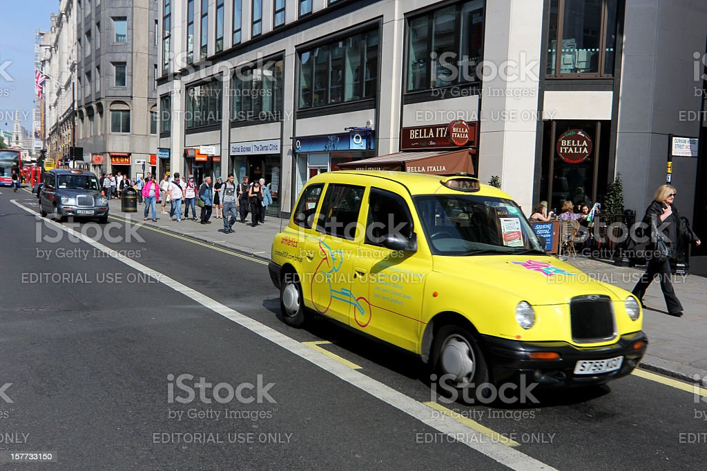 The Strand in London, England royalty-free stock photo