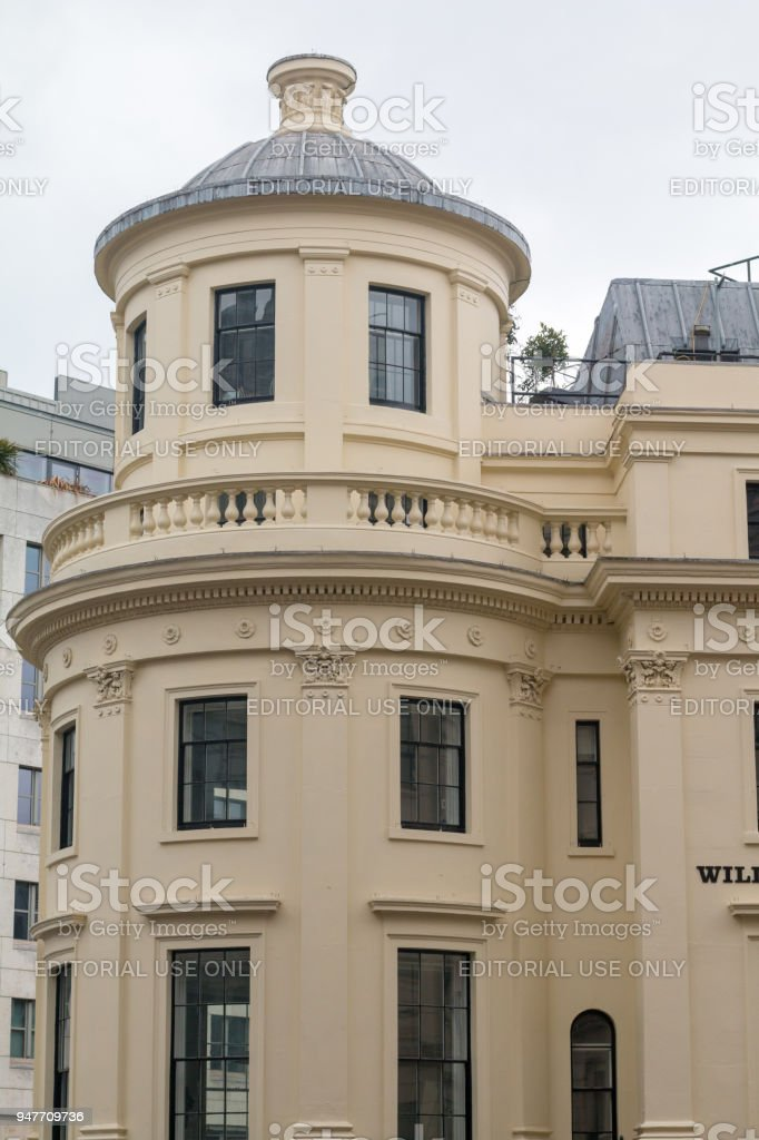 The Strand in Westminster, London stock photo