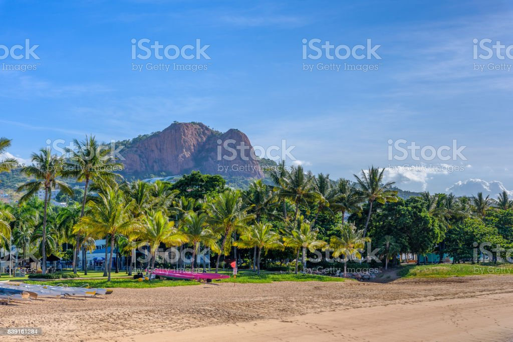 The Strand Townsville stock photo