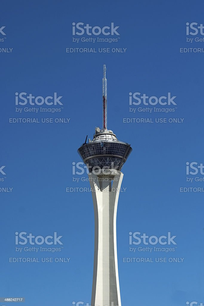 The Stratosphere Tower stock photo