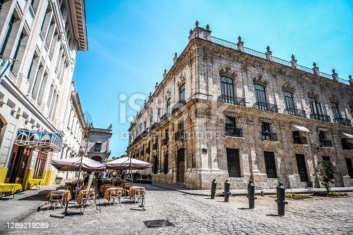 The Street Cafes Of Havana, Cuba
