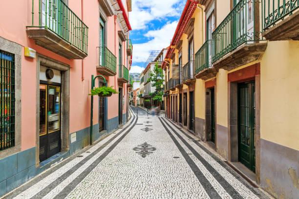 Die Straßen von Funchal Madeira – Foto